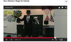 magician for houston schools day cares